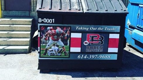 The Boren Brothers are rolling out new dumpsters mocking Michigan football.