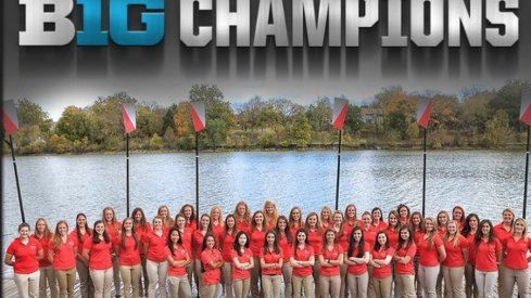 Ohio State women's rowing team won the 2016 Big Ten championship, its fourth straight title.