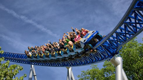 Cedar Point's Millennium Force.