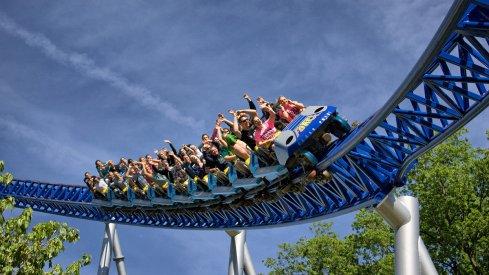 Cedar Point's Millennium Force.