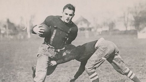 Ohio State great Chic Harley led the 1917 Buckeyes to an 8–0–1 record.