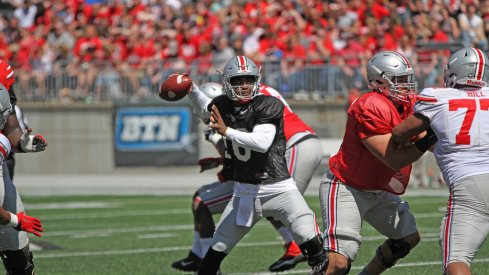 J.T. Barrett's shift in focus allowed him to complete his mission of improving this spring.