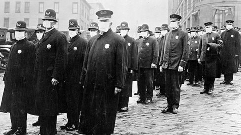 The Great Influenza Pandemic of 1918.