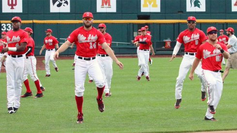 Ohio State is moving on to the next round of the Big Ten baseball tournament.