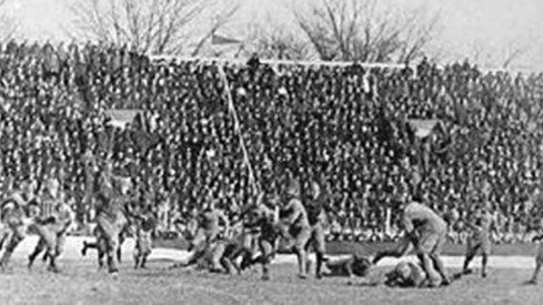Ohio Field, where Ohio State football played its home games before Ohio Stadium opened.