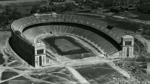 The majestic Ohio Stadium opened in 1922.