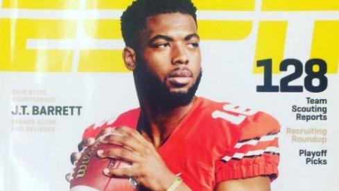J.T. Barrett ESPN Cover