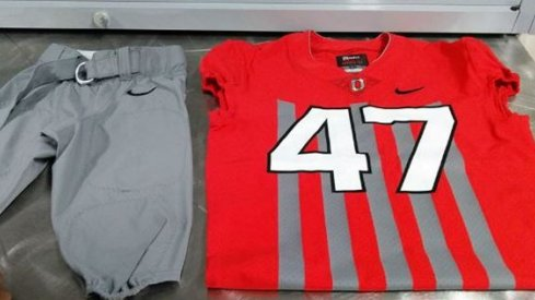 Photo: Possible chic harley Ohio State jerseys.