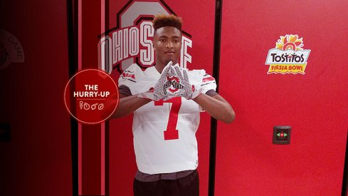 Shaun Wade at Ohio State this weekend.