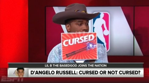 Lil B Curses D'Angelo Russell