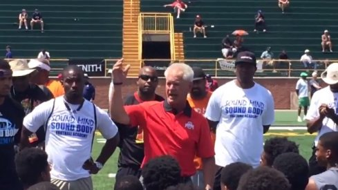 Video: Kerry Coombs Keeps It 100 at Detroit SMSB