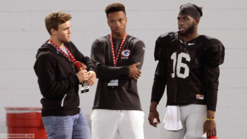Could Tate Martell be the heir apparent to J.T. Barrett at quarterback for Ohio State?