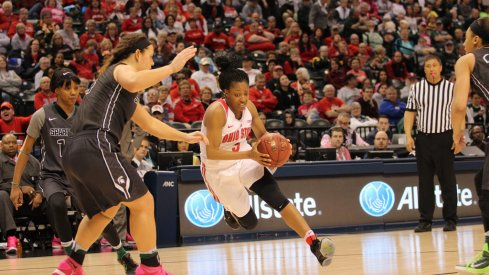 Kelsey Mitchell will lead the Buckeyes again in 2016.
