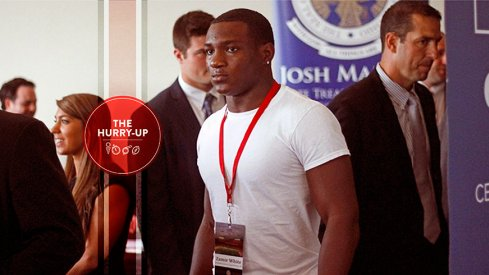 Zamir White at Ohio State on Wednesday