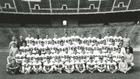 The 1944 Ohio State University football team.