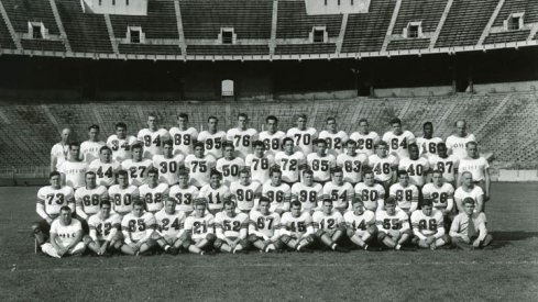 The 1945 Ohio State University football team.