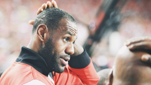 Projecting how Ohio State plans to use its relationship with LeBron James in 2016.