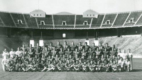 The 1948 Ohio State University football team.