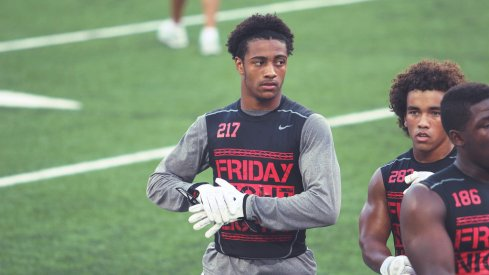 Jaelen Gill is one of Ohio State's top 2018 targets