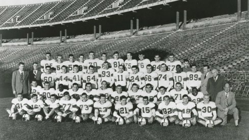 The 1949 Ohio State University football team.