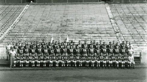 The 1952 Ohio State University football team.