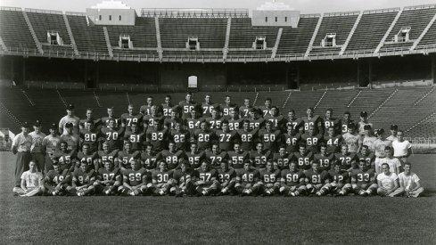 The 1953 Ohio State University football team.