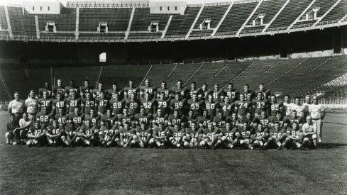 The 1954 Ohio State University football team.