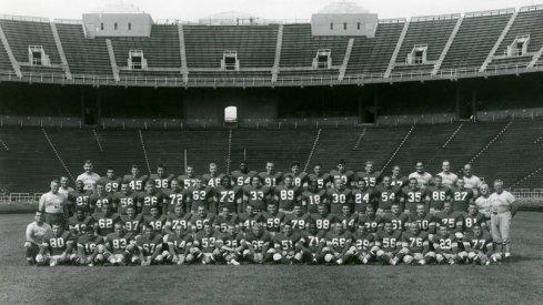 The 1955 Ohio State University football team.