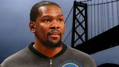 Ohio State Buckeyes react to Kevin Durant joining the Golden State Warriors.