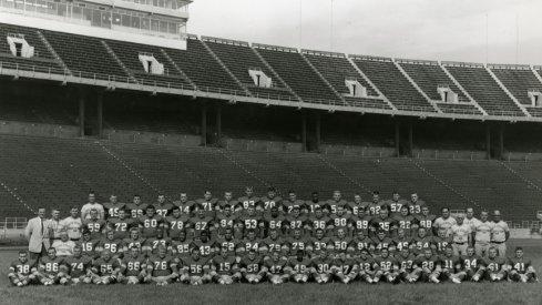 The 1956 Ohio State University football team.