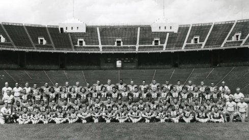 The 1957 Ohio State University football team.