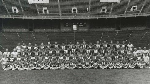 The 1958 Ohio State University football team.