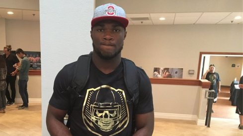 Cam Akers arrives in an Ohio State hat and more Ohio State updates from Day 2 at The Opening.