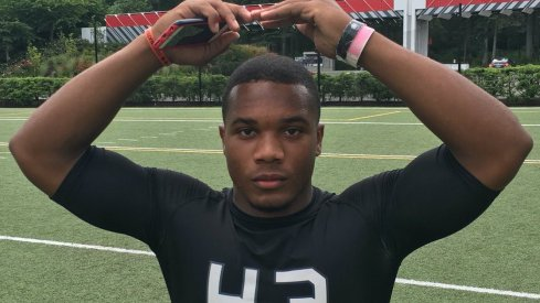 JK Dobbins was the top tester at The Opening.