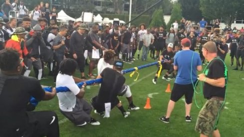 OSU commits win tug of war vs. Michigan commits.