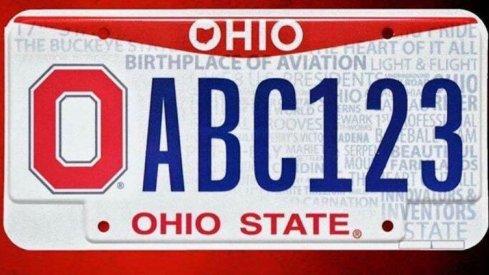 Ohio State releases new Buckeye vanity plates.