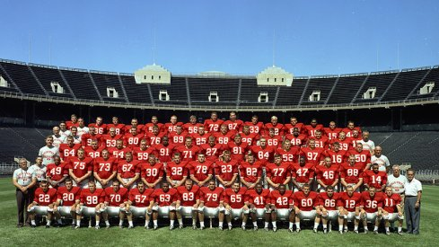 The 1963 Ohio State University football team.