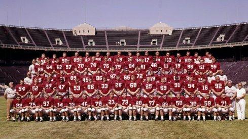 The 1964 Ohio State University football team.