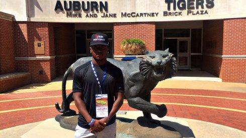 Tyjon Lindsey at Auburn