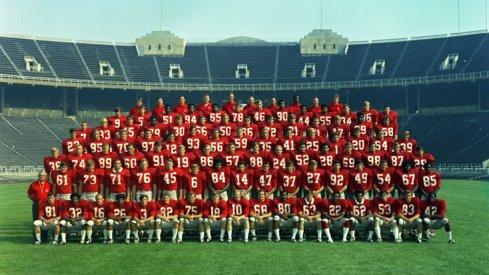 The 1970 Ohio State University football team.