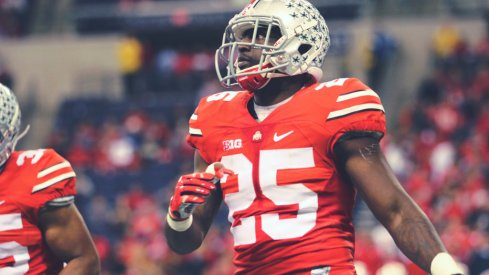 Bri'onte Dunn's career at Ohio State ended Monday evening.