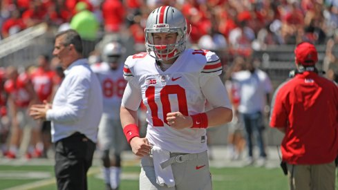 Picking three things each Ohio State quarterback needed to improve upon this offseason.