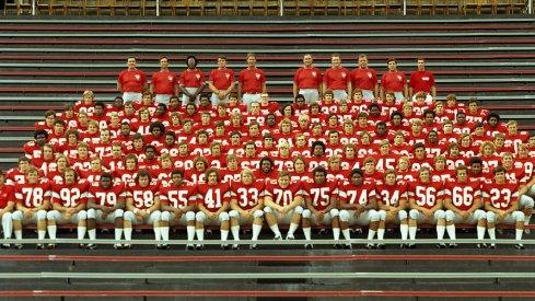 The 1972 Ohio State University football team.