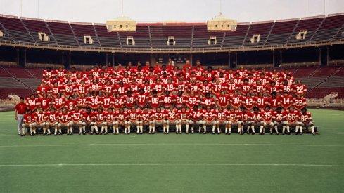 The 1973 Ohio State University football team.