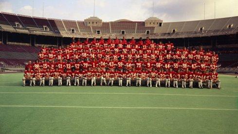 The 1975 Ohio State University football team.