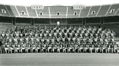 The 1976 Ohio State University football team.