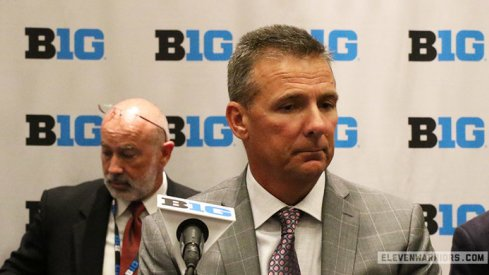 Urban Meyer at Big Ten Media Days.