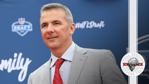 Urban Meyer brought the suit and tie for the July 28th 2016 Skull Session.