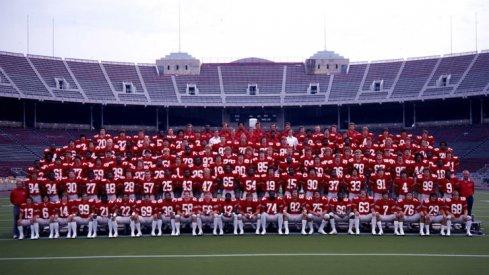 The 1979 Ohio State University football team.
