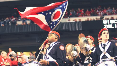 Ohio State's band will travel to Oklahoma.